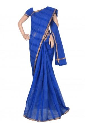 royal-blue-chandheri-saree